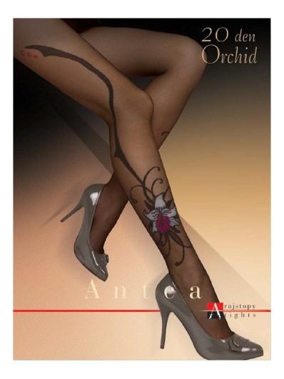 Колготки с рисунком Antea Orchid