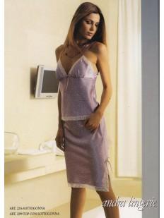 Комплект для сна (юбка и топ) ANDRA LINGERIE 2299